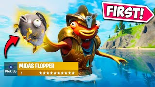 *FIRST EVER* MIDAS FISH CAUGHT!! - Fortnite Funny Fails and WTF Moments! #1044