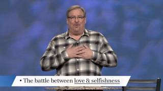 Learn What's Worth Fighting For with Rick Warren
