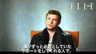【ELLE TV JAPAN】ニック・カーターに独占インタビュー