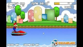 Игра гонки Марио на водном скутере 2