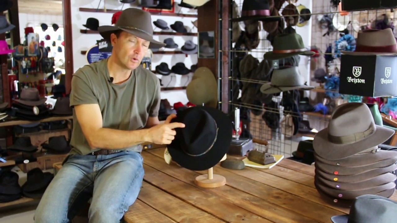 Akubra Leisure Time Hat Review- Hats By The Hundred - YouTube efa7db0d5822