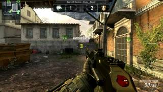 BO2 S&D 5v5 ESL Rules on Slums AN-94 gameplay PC