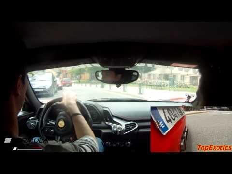 Driving the Ferrari 458 Italia