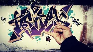 Graffiti indonesia - HROCK - Abandoned building...