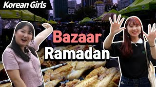 Korean girls went to Bazaar Ramadan for the first time l Blimey in KL2 EP.01