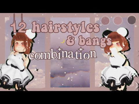 ♡12-royale-high-hairstyles-&-bangs-combination♡-[part-2]