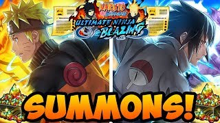 TWO YEAR ANNIVERSARY SUMMONS! HYPE! | Naruto Shippuden Ultimate Ninja Blazing
