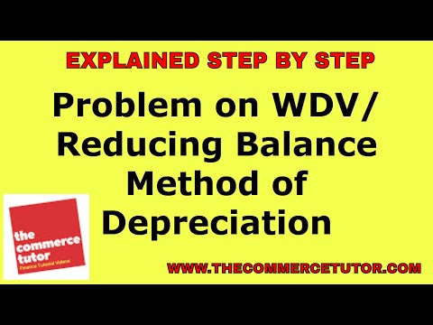 an explanatory article on depreciation and two methods of depreciating an asset Poor depreciation techniques can distort accounts the pros and cons of different depreciation methods the depreciation charge early in an asset's.