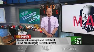 Jim Cramer says these 'pseudo-lockdown' stocks will benefit from Wall Street's latest Covid fears