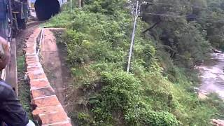 Nilgiri Mountain Railway - Ooty Train - Over the & River into the tunnel