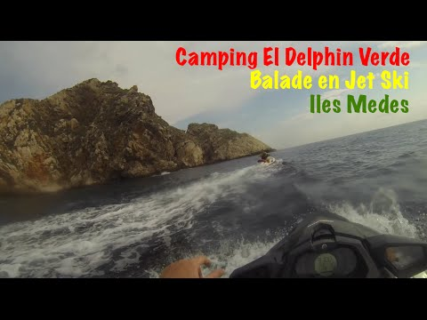 Balade en Jet Ski autour des iles Medes - Camping El Delfin Verde Costa Brava - Camping spain