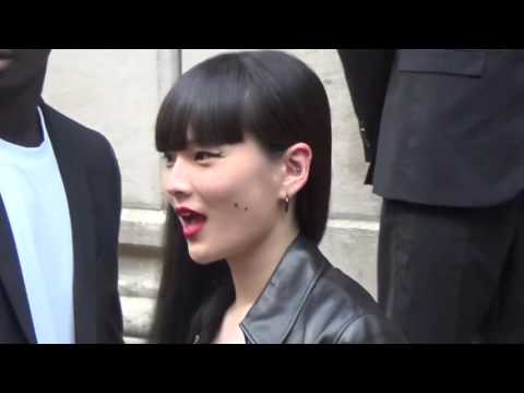 Kozue AKIMOTO 秋元梢 @ Paris 24 june 2016 Fashion Week show Givenchy / juin