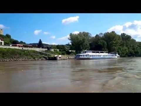 "River Danube - Cruise boat ""Martin"" docking"