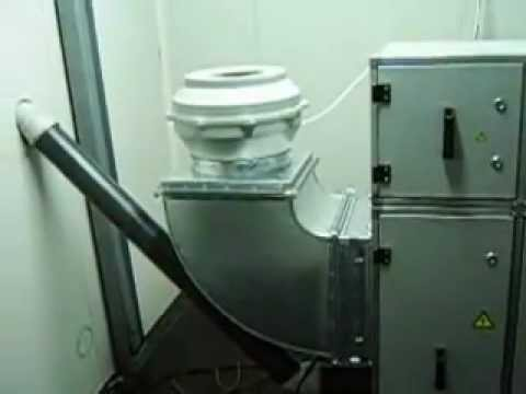 Cold plasma technology  for treatment gases from roasted coffe .AVI