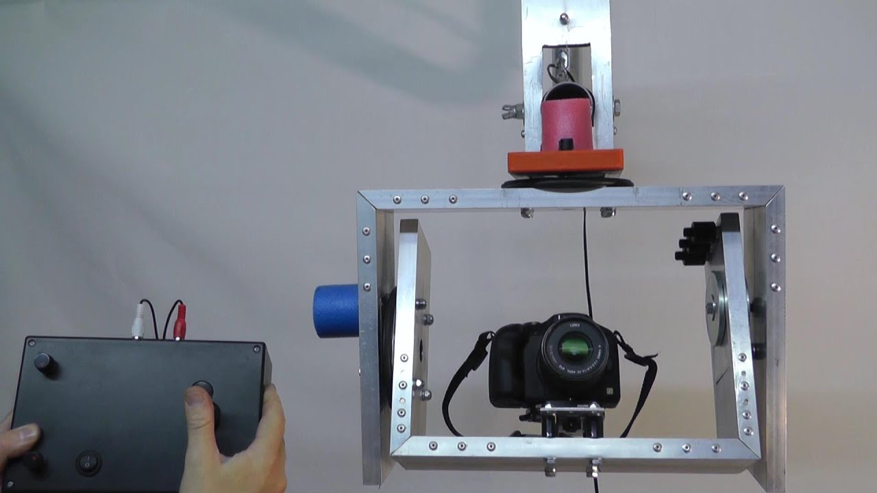 Diy motorized pan and tilt head for camera jib crane for Pan and tilt head motorized