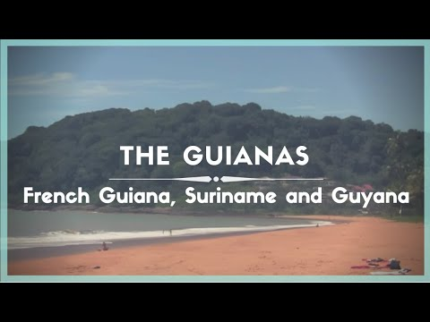 Celestielle #64 - The Guianas: French Guiana, Suriname and Guyana