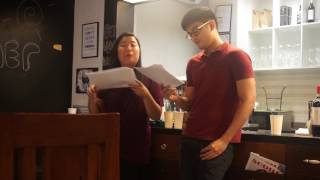 Keep the Faith - Live Reading at BookwormsUnitePH 2017