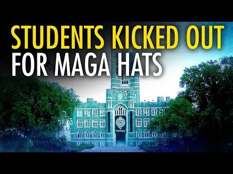 Campus Coffee Shop Boots College Republicans For Wearing MAGA Hats