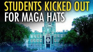 Campus Coffee Shop Boots College Republicans For Wearing MAGA Hats Free HD Video