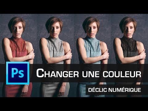 Tuto Photoshop : Changer une couleur