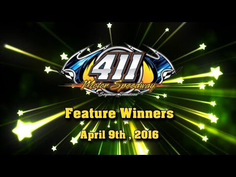 411 Motor Speedway Feature Winners Interviews April 9th 2016