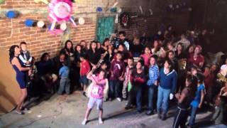 Pastel de Rayo McQueen y Piñatas - Fiesta de cumpleaños Javier Emiliano