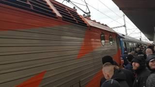 Baník příjezd vlaku a jebat Opavu