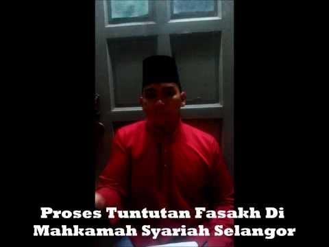 Proses Tuntutan Fasakh Di Mahkamah Syariah Selangor