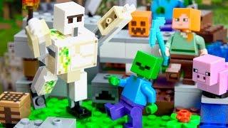LEGO Minecraft 21123 The Iron Golem