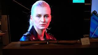 Hisense H55O8B hands on OLED TV