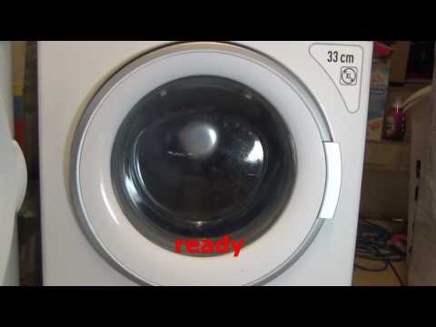 Why you should NEVER carry on running a washing machine with bad bearings. FAIL.
