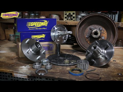 Speedway Tech Talk - Early Ford Hubs & Bearing Components