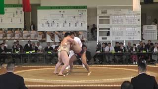 20170503 全国大学選抜相撲宇佐大会 団体決勝T 3位決定戦 thumbnail