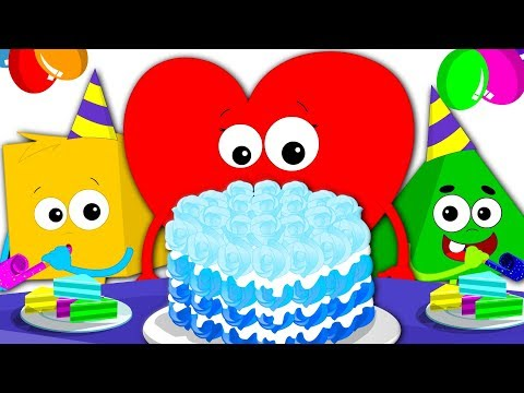 Happy Birthday Song | Party Song | Nursery Rhymes For Kids | Birthday Song For Children