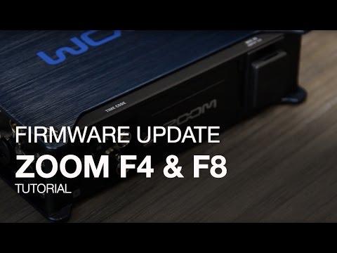 F4 and F8: Firmware Update