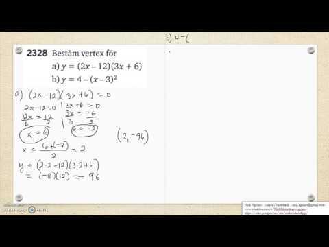 Matematik 5000 Ma 2c   Kapitel 2   Andragradsfunktionens största minsta värde 2328