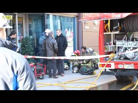 Incendi a l'hotel Font d'Argent de Canillo