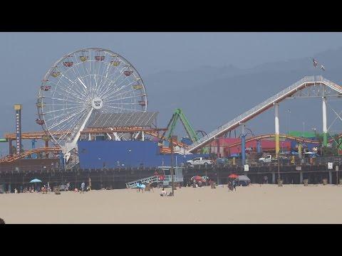 The Big Trip To USA | Day 3 | Santa Monica Beach!