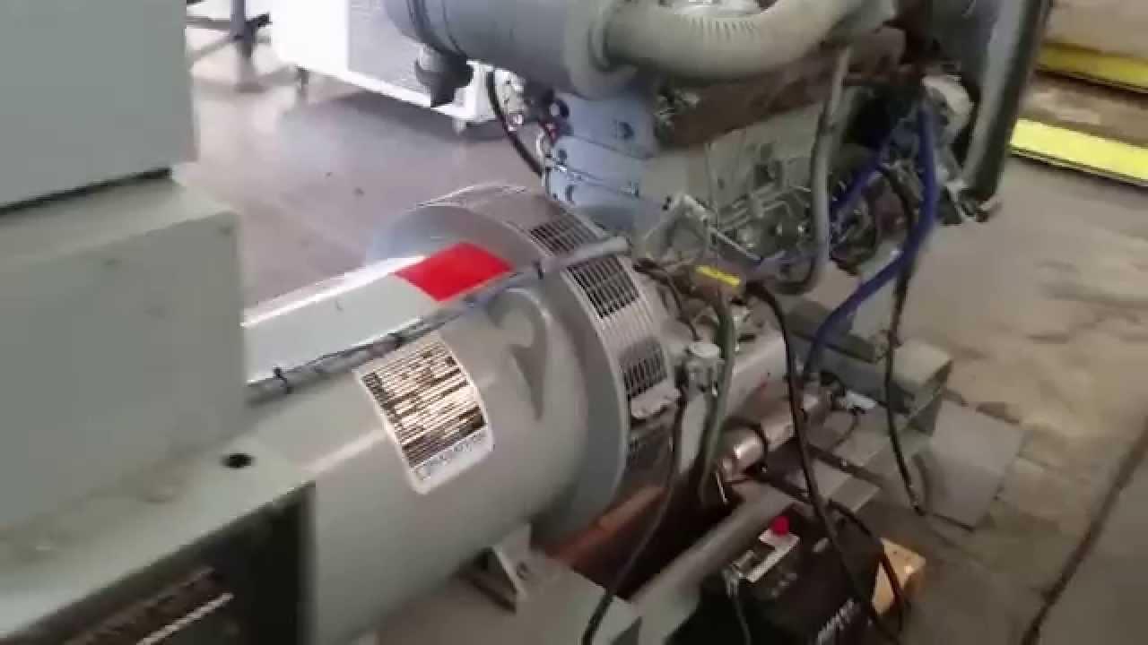 Hercules-White 60KW Diesel Generator Low Hours from GotPower!