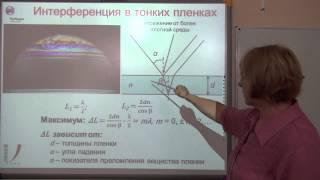 Лекции по физике. Урок № 21. Раздел – Оптика.