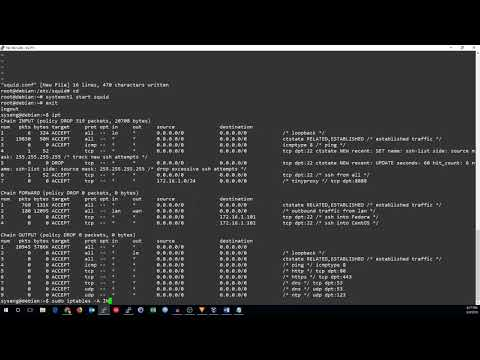 Transparent HTTP+HTTPS Proxy with Squid and iptables - YouTube