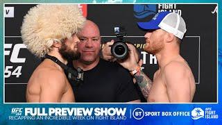 Full preview show | UFC 254: Khabib v Gaethje | BT Sport