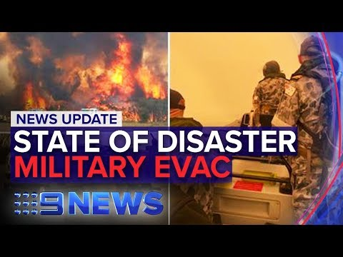 Australia Fires: Army To Evacuate Trapped Residents In Victoria | Nine News Australia