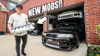 homepage tile video photo for R33 SKYLINE GETS SOME POWER MODS!
