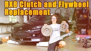 Mazda RX8 Clutch and Flywheel Replacement [FULL LENGTH]