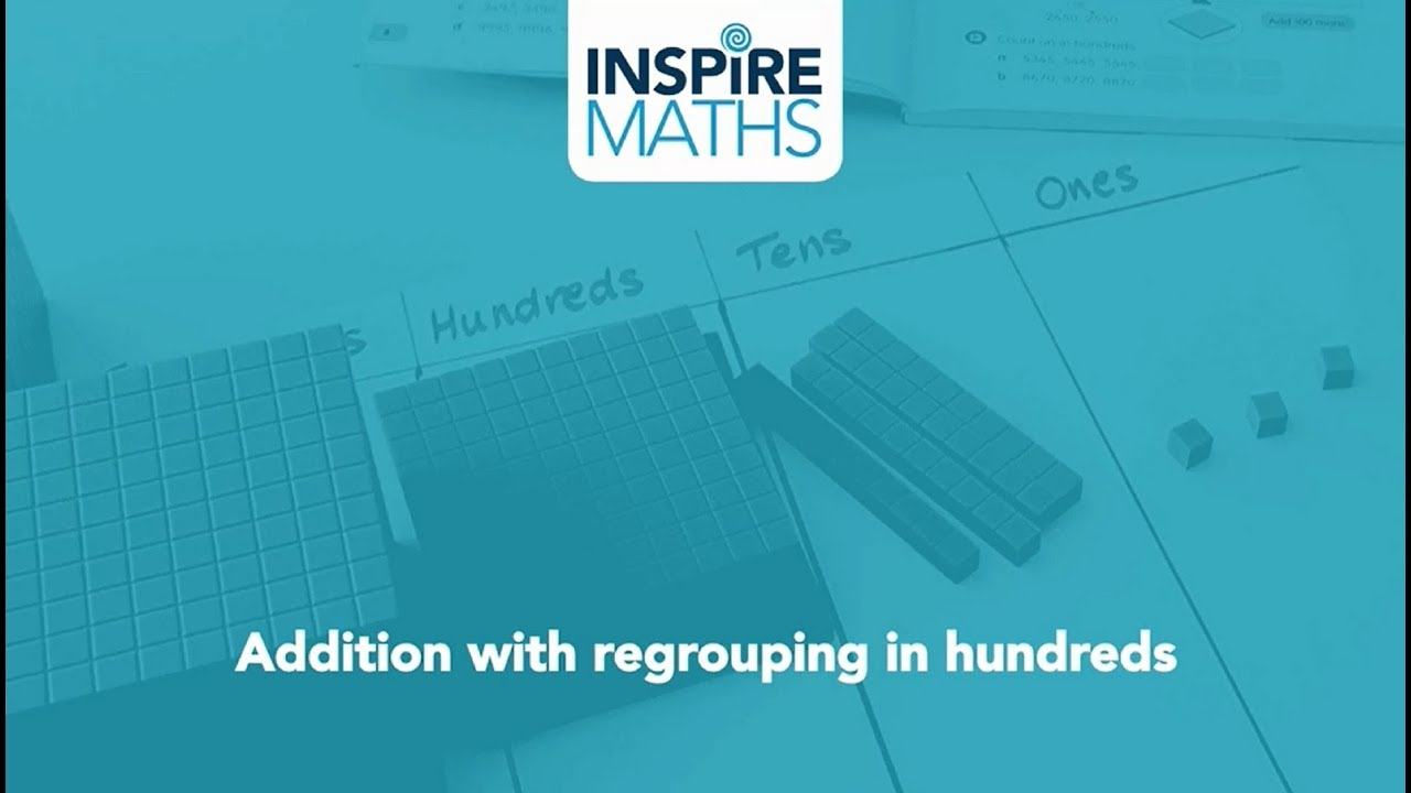 Practical lesson: Addition with regrouping in hundreds - YouTube
