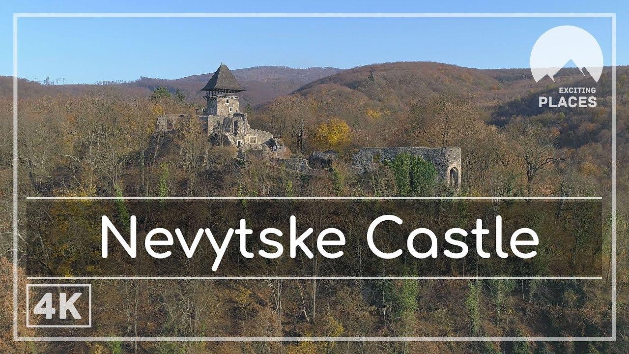 Невицкий замок, Украина (4k Ultra HD)