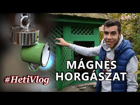 MÁGNES HORGÁSZAT:ÚJ MÁGNESEM VAN? #HetiVlog thumbnail
