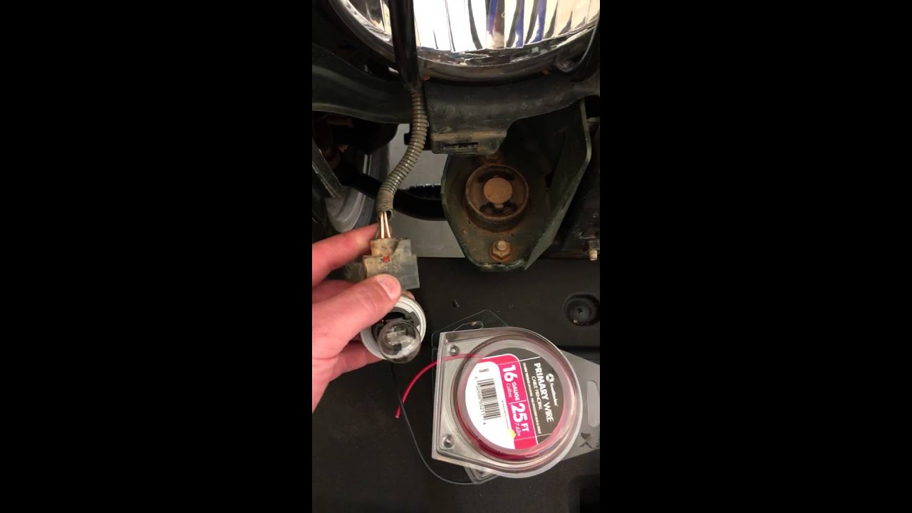 small resolution of wiring fog light for jeep wrangler jk