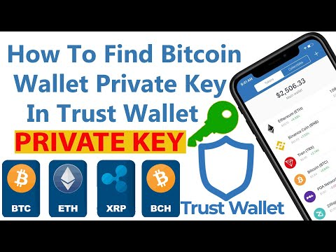 How To Find Bitcoin Wallet Private Key In Trust Wallet | BTC Private Key